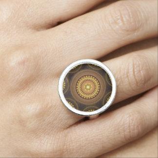 Fractal Circles Photo Ring