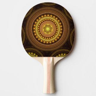 Fractal Circles Ping Pong Paddle