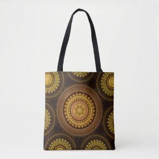 Fractal Circles Tote Bag