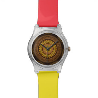 Fractal Circles Wrist Watches
