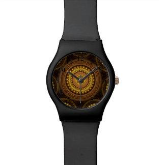 Fractal Circles Wristwatch