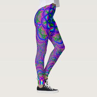 Fractal Colors Leggings