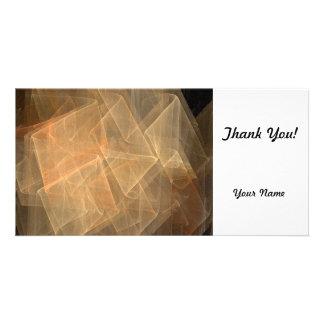 Fractal Customized Photo Card