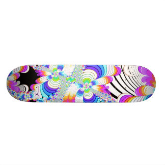 Fractal Daydreams Custom Skate Board