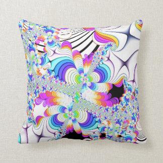 Fractal Daydreams Throw Pillow