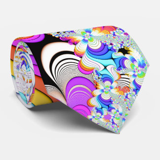 Fractal Daydreams Tie
