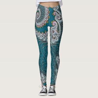 Fractal design leggins leggings