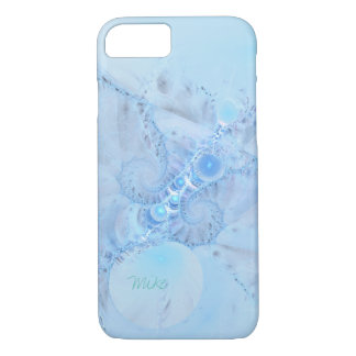 Fractal Design Phone Case in Light Blue