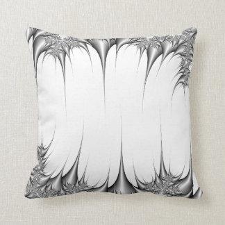 Fractal design throw pillow