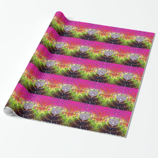 Fractal Diamonds Wrapping Paper