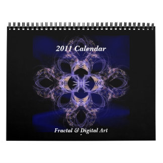 Fractal & Digital Art  2011 Calendar