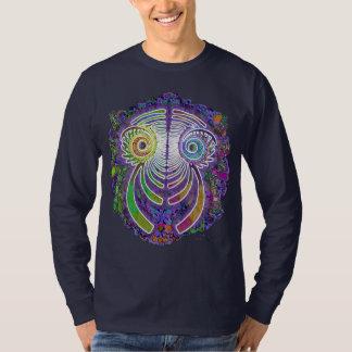 Fractal Dragon Flower Power T-Shirt