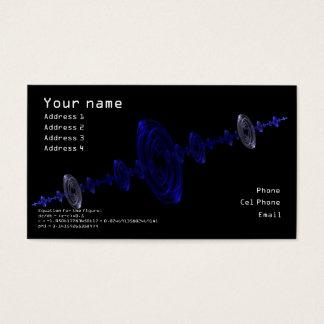 Fractal Drops Buisness Card