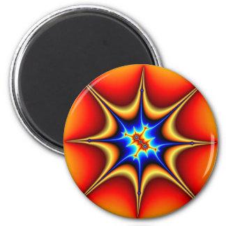 Fractal Emblem - Fractal Art Magnet
