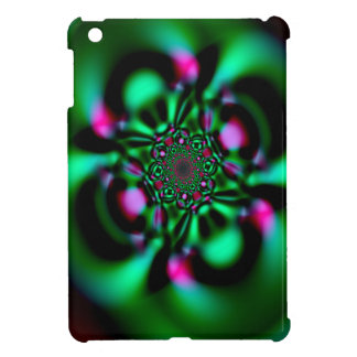 Fractal Emerald Look iPad Mini Case