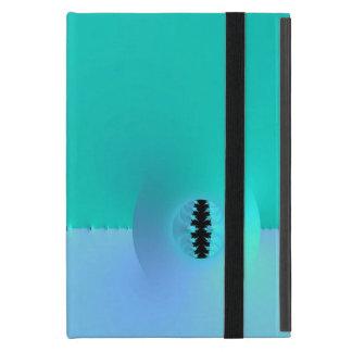 Fractal Farm in Blue & Turquoise iPad Mini Case