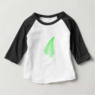Fractal fern leaf baby T-Shirt