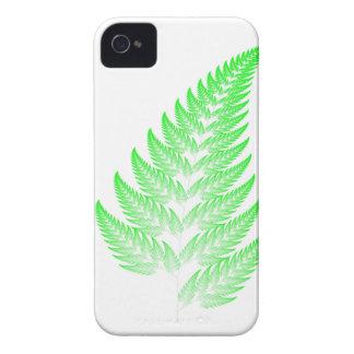 Fractal fern leaf Case-Mate iPhone 4 cases