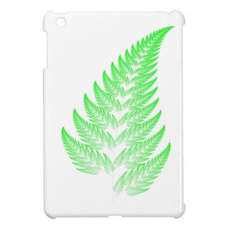 Fractal fern leaf iPad mini case