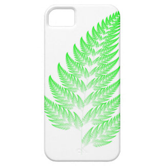 Fractal fern leaf iPhone 5 case