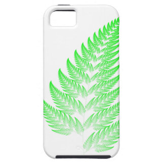 Fractal fern leaf iPhone 5 covers