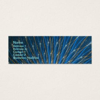 Fractal Fireworks Business Card