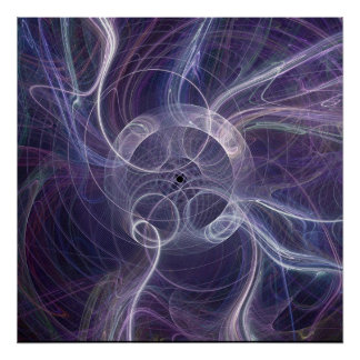 Fractal Flame : ring ghost II Poster