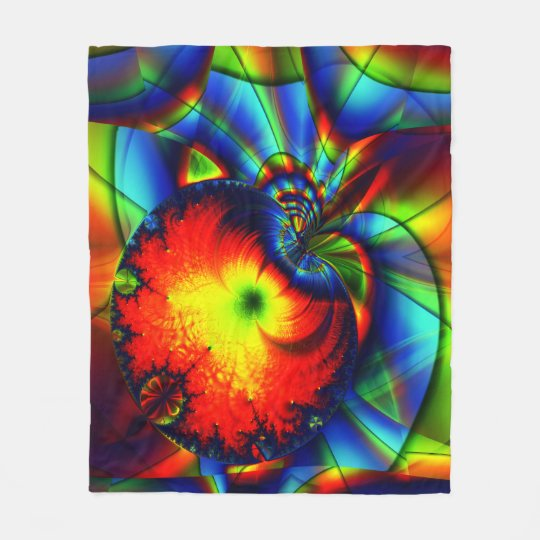 Fractal Fleece Blanket, Conception
