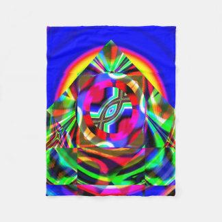 Fractal Fleece Blanket, RA