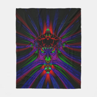 Fractal Fleece Blanket, Spawn