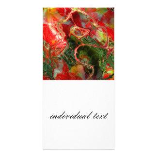 fractal flower (SF) Photo Card