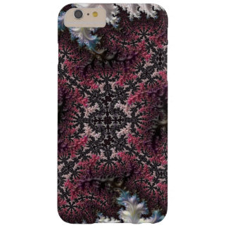 Fractal Funky Spiraling Feathery Star Intricate Barely There iPhone 6 Plus Case