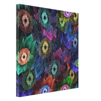 Fractal Gardening Canvas Print