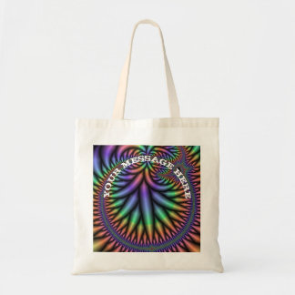 Fractal-generated computer tote bag