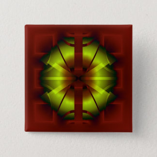 Fractal Geometry 2 Inch Square Button