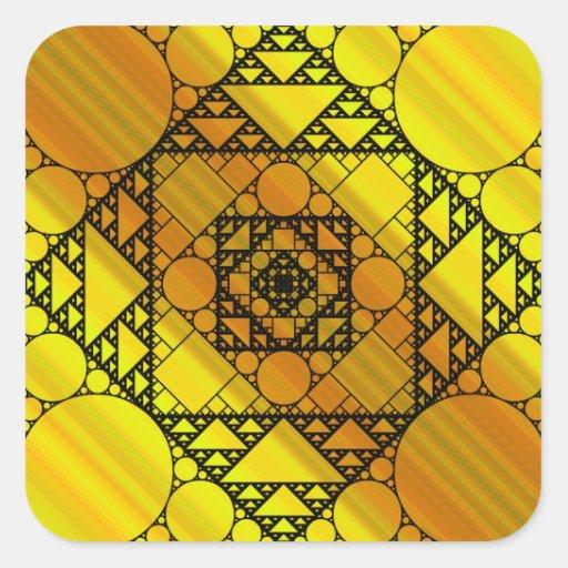 Fractal Geometry Sticker