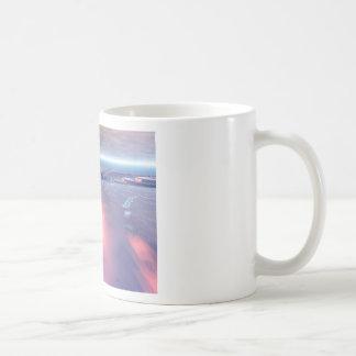 Fractal Glacier Landscape Coffee Mug