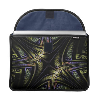 Fractal Golden Celtic MacBook Pro Sleeve