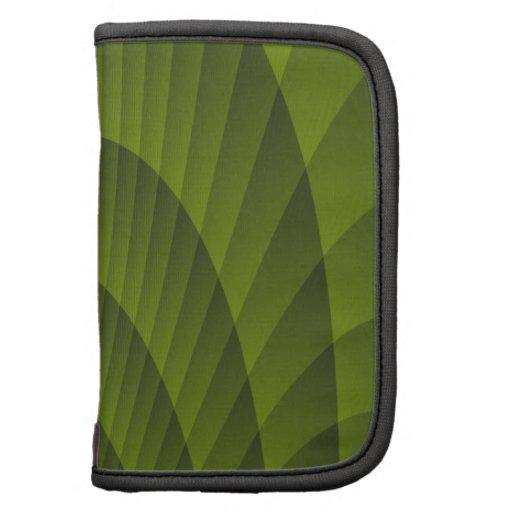 Fractal Green Design Folio Planner