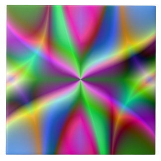Fractal Hourglass Art Tile