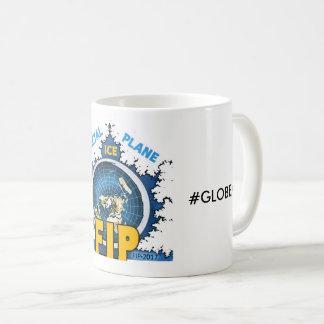 Fractal Ice Plane Globexit Mug