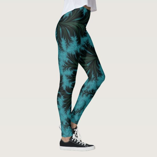 Fractal Image Leggings