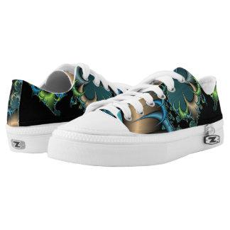 Fractal image Low-Top sneakers