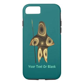 Fractal Inuit Hunter iPhone 7 Case