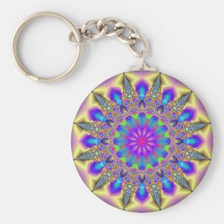Fractal Jewels 12 Keychain