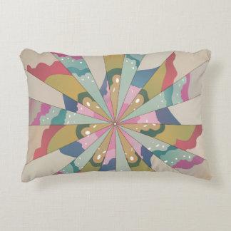 Fractal Kaleidoscope Decorative Pillow