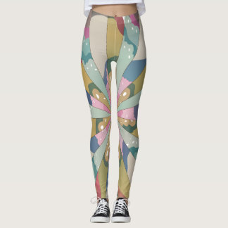 Fractal Kaleidoscope Leggings
