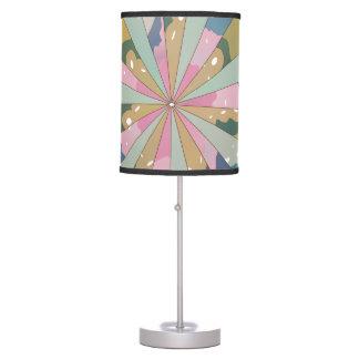 Fractal Kaleidoscope Table Lamp