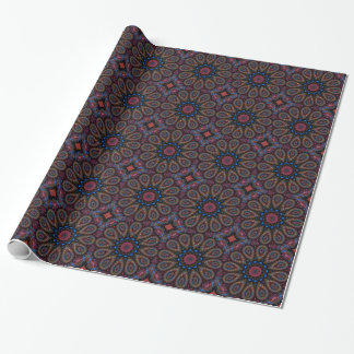 Fractal Kaleidoscope Wrapping Paper