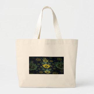 Fractal Large Tote Bag